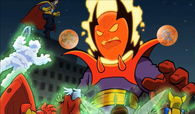 Дормамму в мультсериале Отряд супергероев