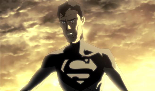 Супермен в Лига справедливости: Парадокс источника конфликта