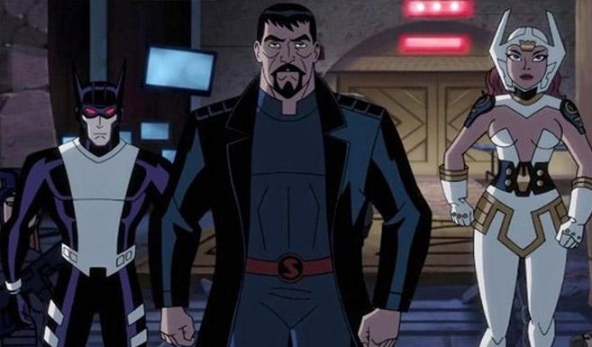 Супермен в Лига Справедливости: Боги и Монстры