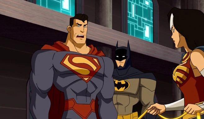 Супермен в Лига Справедливости: В ловушке времени