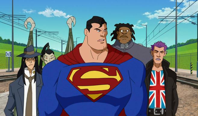 Супермен в Супермен против Элиты