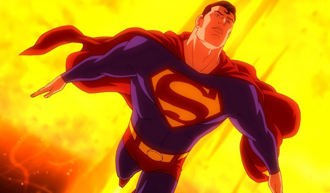 Супермен в Сверхновый Супермен