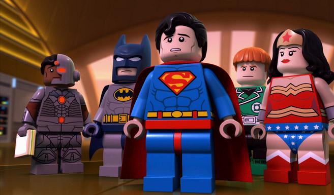 Супермен появляется в LEGO Супергерои: Лига Справедливости против Лиги Бизарро