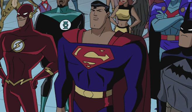 Супермен в мультсериале Лига справедливости