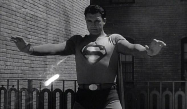 Джордж Ривз в роли Супермена