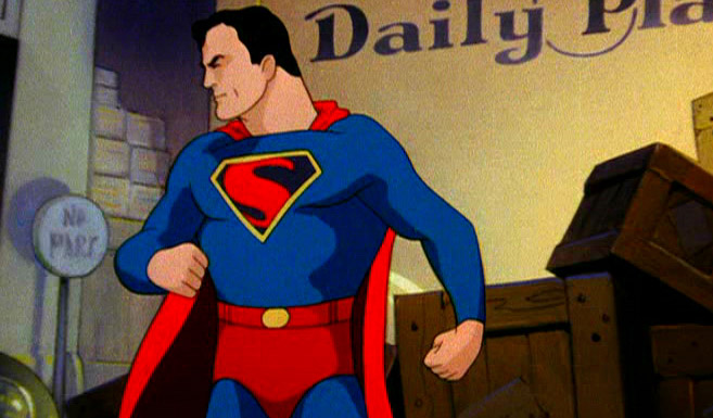 Супермен в мультсериале Супермен 1941 года