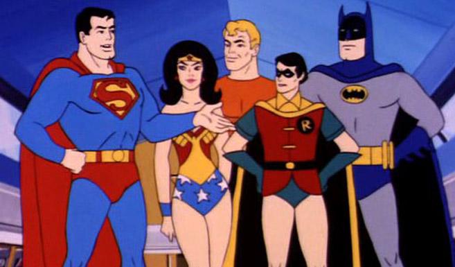 Супермен в Супердрузья 1973 года