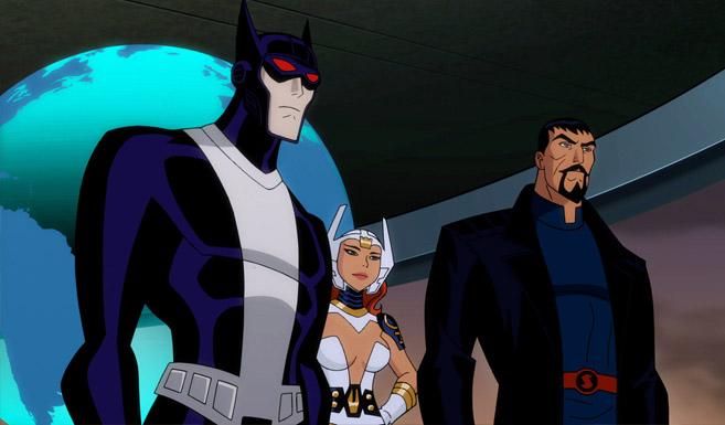 Бэтмен в Лига Справедливости: Боги и Монстры