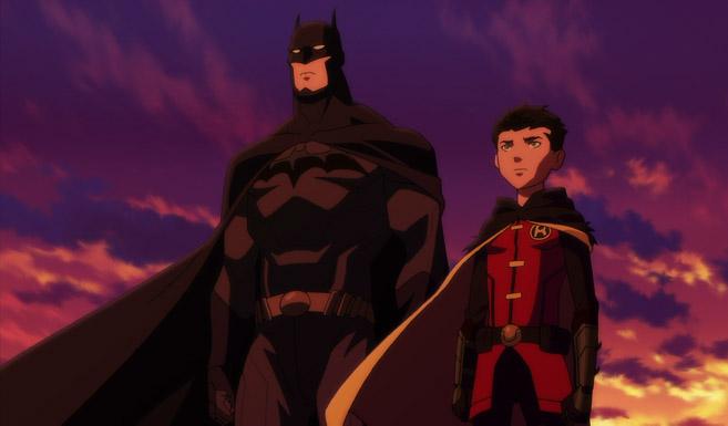 Бэтмен появляется в Сын Бэтмена