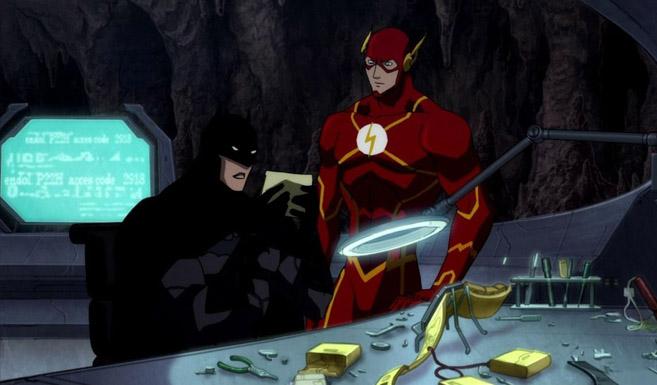 Бэтмен в Лига справедливости: Парадокс источника конфликта