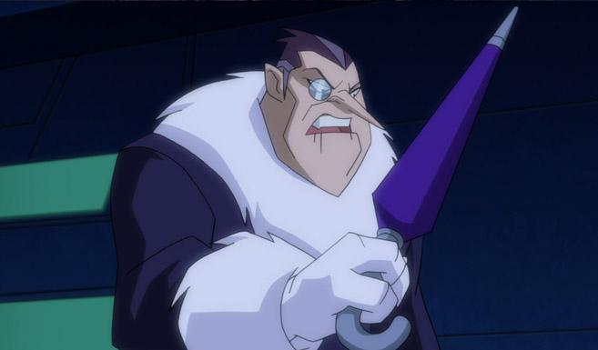 Пингвин появляется в Безграничный Бэтмен Животные инстинкты