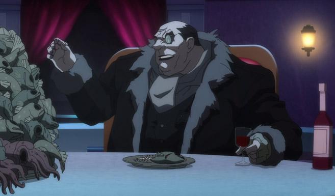 Пингвин в Бэтмен: Нападение на Аркхэм
