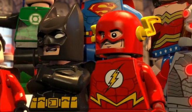 Флэш появляется в LEGO. Бэтмен: Супер-герои DC объединяются