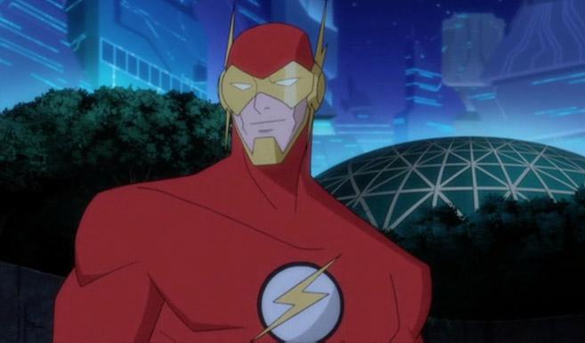 Флэш появляется в Безграничный Бэтмен: Животные инстинкты.jpg