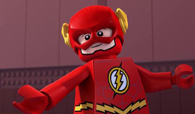 Флэш в LEGO супергерои DC: Лига справедливости против Лиги Бизарро