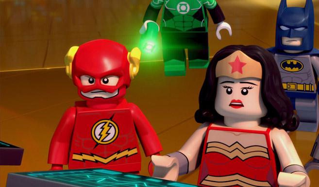 Флэш появляется в LEGO супергерои DC: Лига Справедливости: Атака Легиона Смерти