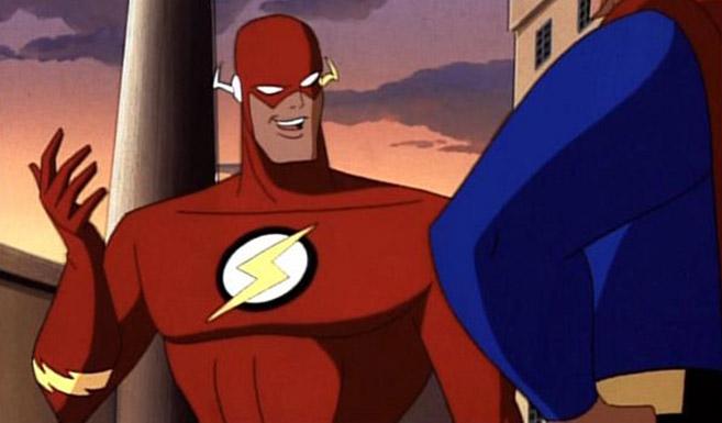 Флэш появляется в Супермен