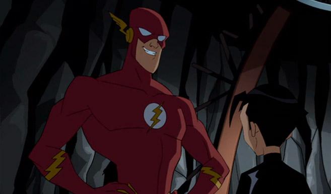 Флэш появляется в мультсериале Бэтмен