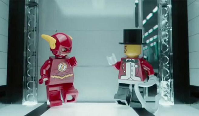 Флэш появляется в Лего. Фильм