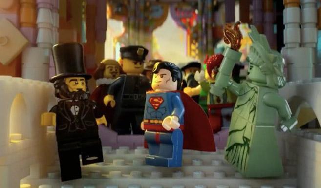 Супермен появляется в фильме Лего. Фильм