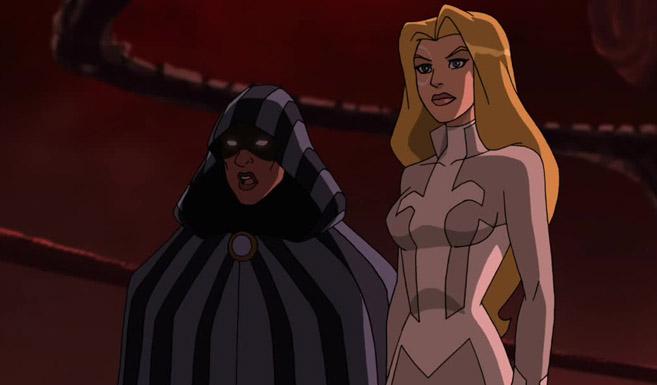 Кинжал и Плащ появляется в мультсериале Совершенный Человек-Паук