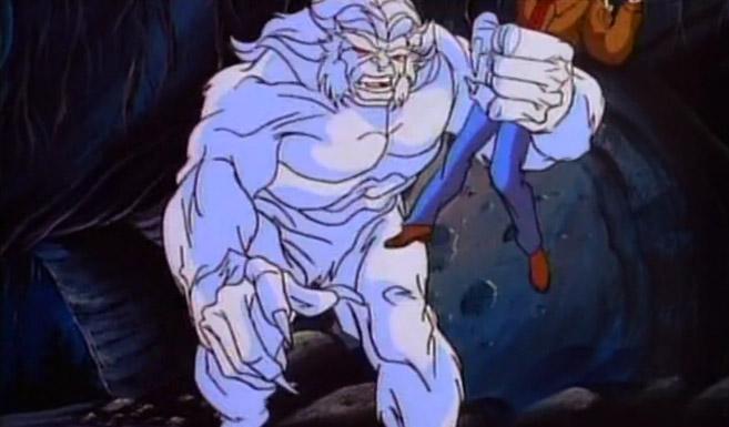 Вендиго появился в мультсериале Невероятный Халк