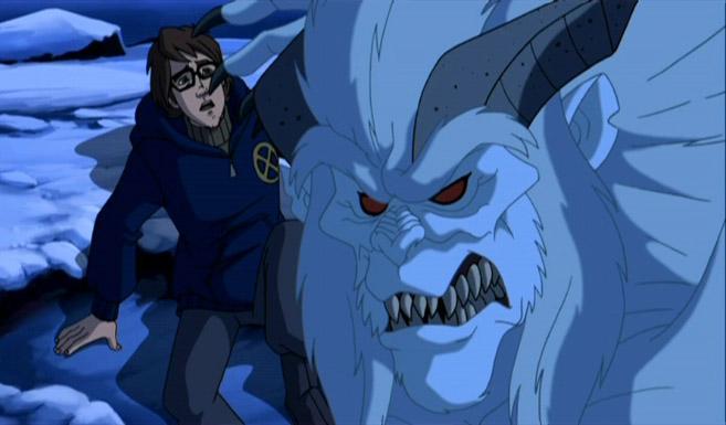 Вендиго появился в мультсериале Росомаха и Люди Икс