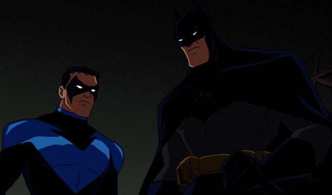 Бэтмен появляется в Бэтмен - Под красным колпаком