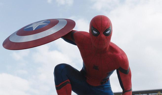 Человек-паук в фильме Первый мститель - Противостояние