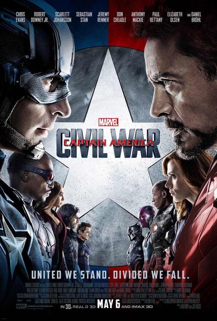 Постер фильма (Первый Мститель Противостояние)