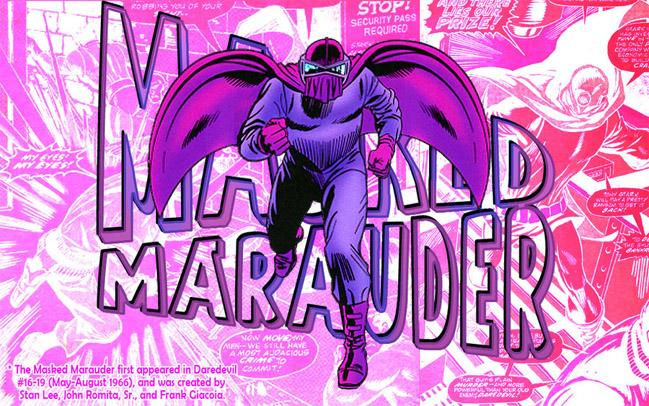 Мародера в Маске (Masked Marauder)