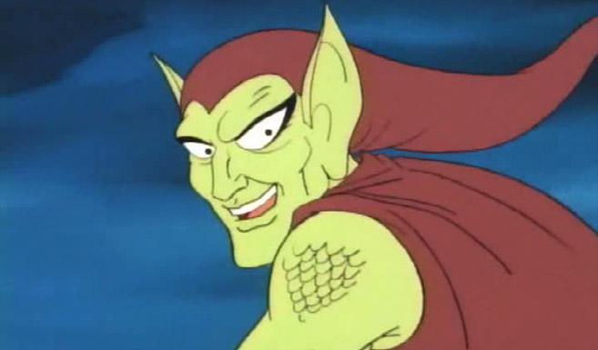 Зелёный гоблин в мультсериале Человек-паук и его удивительные друзья