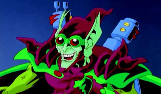 Зелёный гоблин в мультсериале Непобедимый Человек-паук