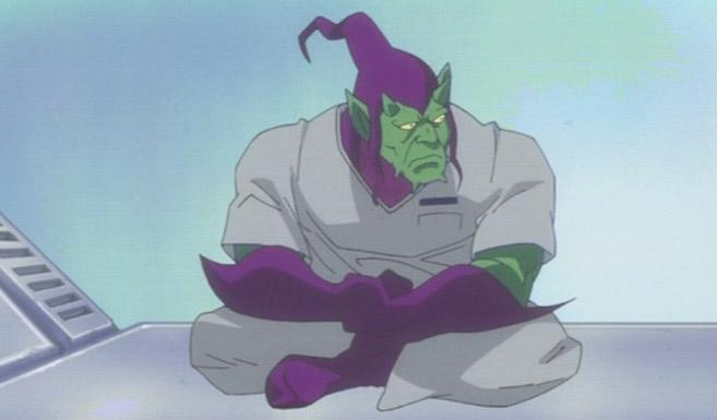 Зелёный гоблин в мультсериале Мстители - Дисковые войны