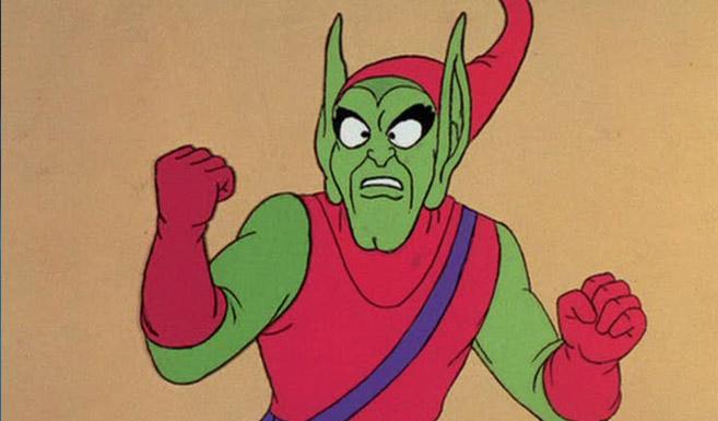 Зелёный гоблин в мультсериале Человек-Паук (1960-х годах)