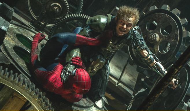 Зелёный гоблин в фильме Новый Человек-паук - Высокое напряжение