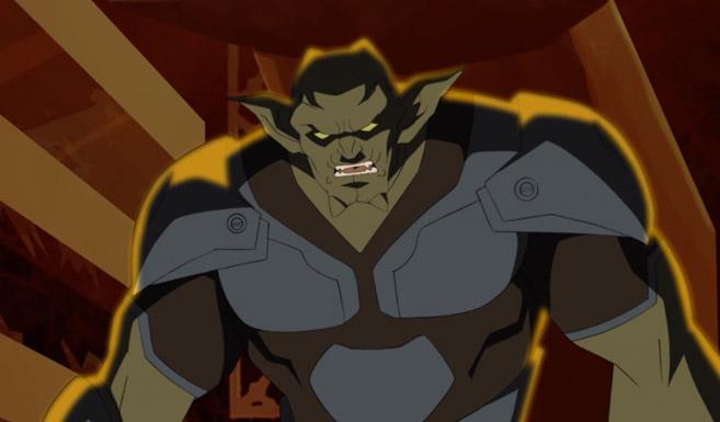 Зелёный гоблин в мультсериале Совершенный Человек-Паук