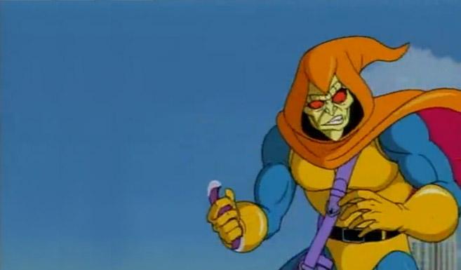 Зелёный гоблин в мультсериале Человек-Паук