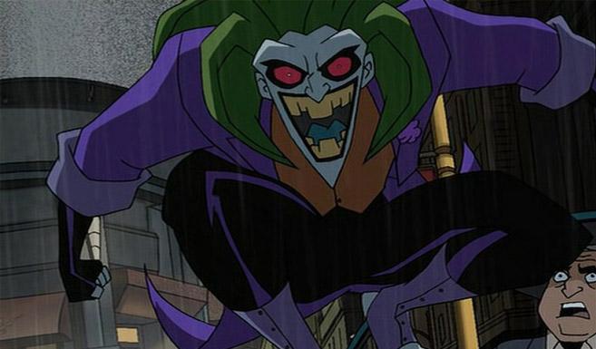 Джокер появляется в Бэтмен против Дракулы