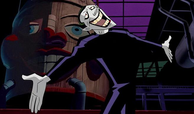 Джокер появляется в Бэтмен будущего - Возвращение Джокера