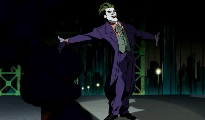 Джокер появляется в Бэтмен - Под красным колпаком