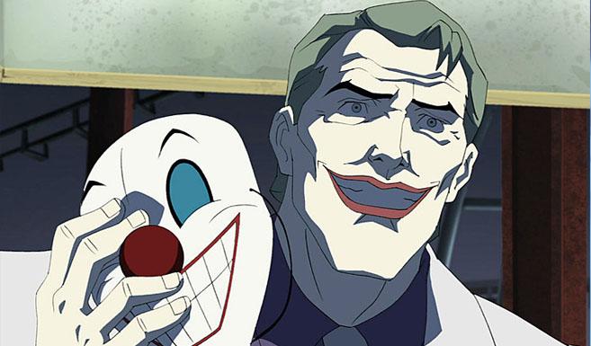 Джокер появляется в Бэтмен-Возвращение Тёмного рыцаря