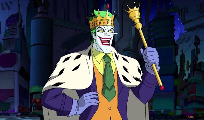 Джокер появляется в Безграничный Бэтмен - Хаос