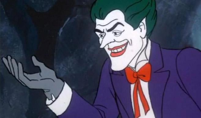 Джокер появляется в мультсериале Час Бэтмена и Супермена