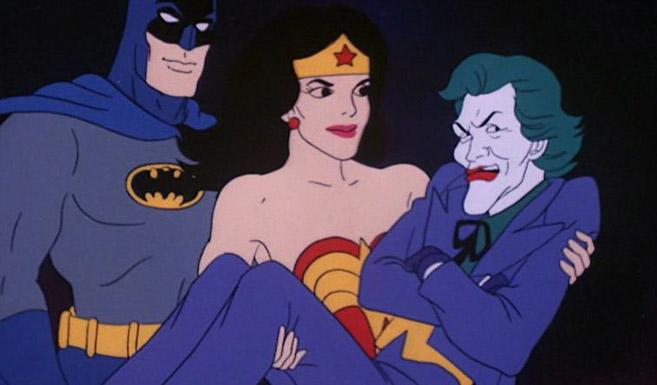 Джокер появляется в мультсериале Супермощная команда - Стражи галактики