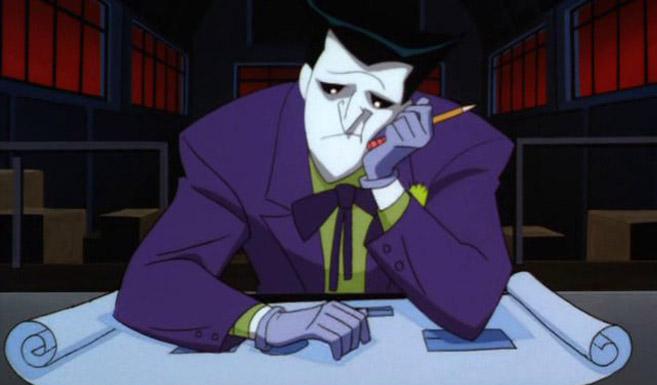 Джокер появляется в мультсериале Новые приключения Бэтмена