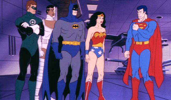 Бэтмен в мультсериале Супермощная команда - Стражи галактики