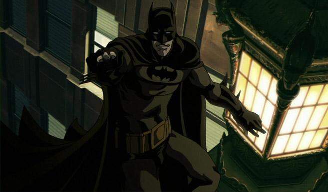 Бэтмен появляется в Бэтмен - Рыцарь Готэма