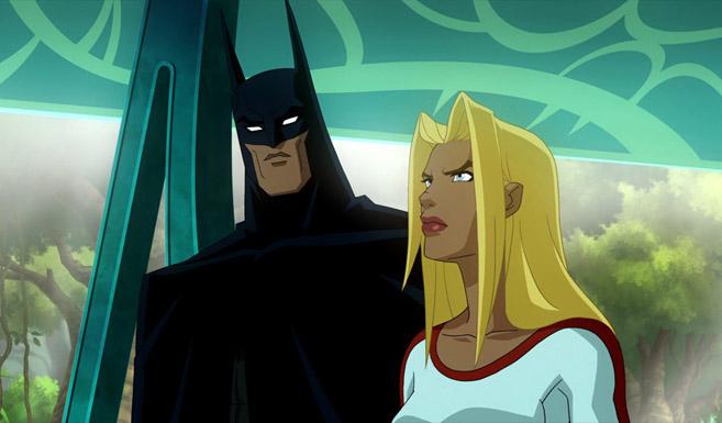 Бэтмен появляется в Супермен/Бэтмен - Апокалипсис