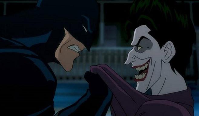 Бэтмен появляется в Бэтмен - Убийственная шутка